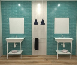 Bathroom 04 Decorline Modern Bathroom Ceramica Sant'Agostino